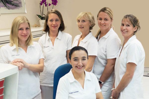 Das qualifizierte Team unserer medizinischen Fachangestellten