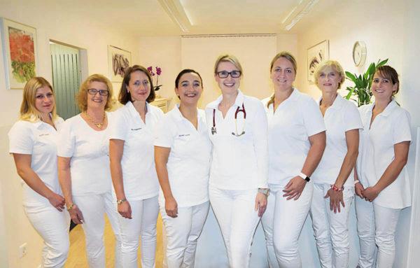 Das Team der Allgemeinarztpraxis Dr. med. Birgit Kroll heißt Sie herzlich willkommen!